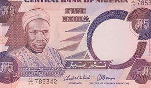 Nigeria: Ponad 30-procentowy spadek kursu waluty. Koniec powiązania z dolarem