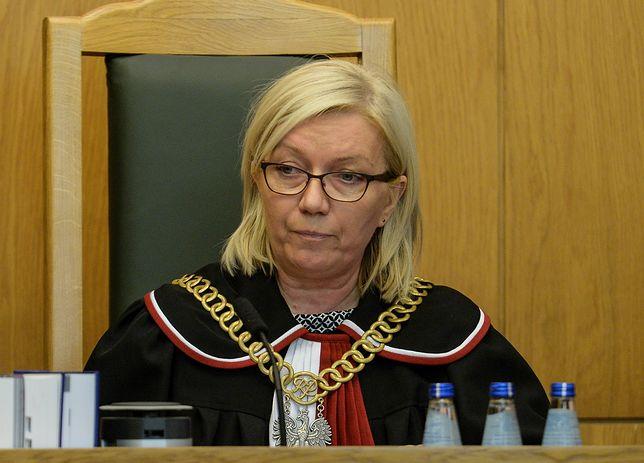 Julia Przyłębska, prezes Trybunału Konstytucyjnego, może liczyć na wyższą emeryturę niż Małgorzata Gersdorf, pierwsza prezes Sądu Najwyższego