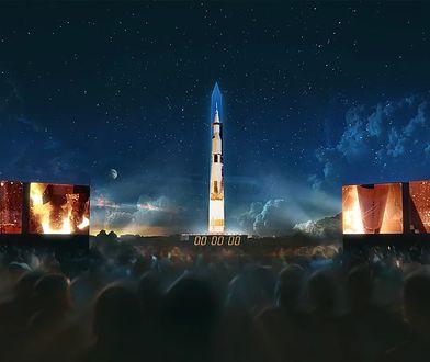 Amerykanie wyświetlą projekcję Saturna V na białym obelisku