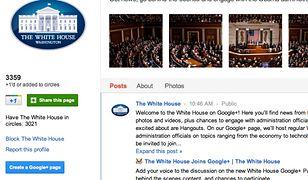 Teraz możesz porozmawiać z Białym Domem... przez Google+