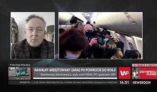 """Rosja. Aleksiej Nawalny aresztowany. Bartłomiej Sienkiewicz: """"To jest heroizm"""""""