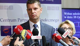 Minister edukacji Dariusz Piontkowski nie krył zdumienia słowami Aleksandry Dulkiewicz