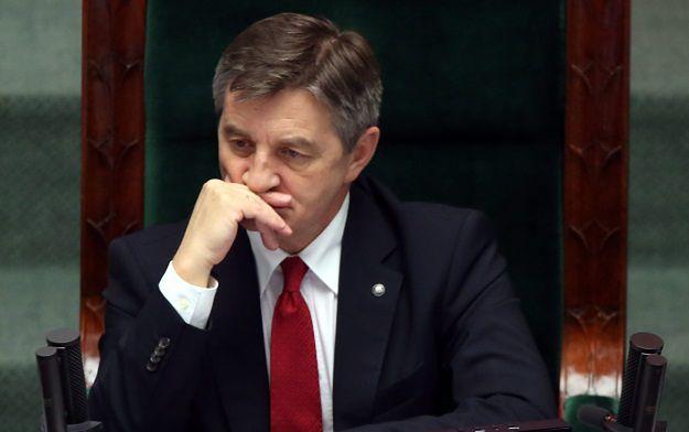 Marek Kuchciński oskarża dziennikarzy i europarlamentarzystów o udział w próbie obalenia rządu