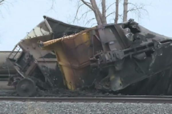 Wykoleił się pociąg z węglem w USA. Sprzątanie potrwa co najmniej dwa dni