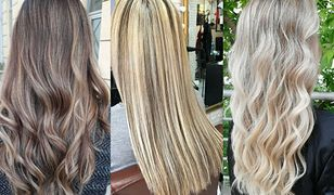 Balejaż blond to nieśmiertelny trend w farbowaniu włosów