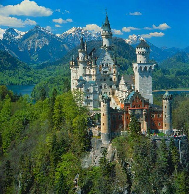 Najbardziej bajkowy zamek świata - Neuschwanstein, Niemcy