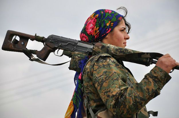 Kurdyjska bojowniczka