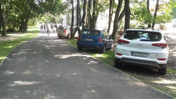 Samochody tarasują Pole Mokotowskie. Co weekend powstaje nielegalny parking