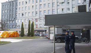 Koronawirus. Warszawa. Ze szpitala MSWiA oddalił się mężczyzna zarażony koronawirusem.