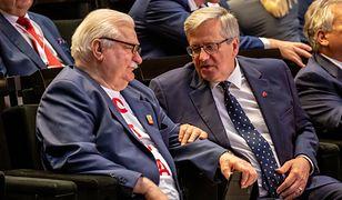 Problemy finansowe Wałęsy? Komorowski: Państwo powinno zadbać o jego godną egzystencję