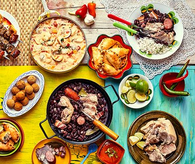 Jedzenie z Brazylii