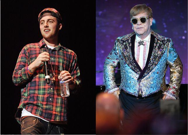 Elton John zadedykował utwór Mac Millerowi podczas ostatniego koncertu.