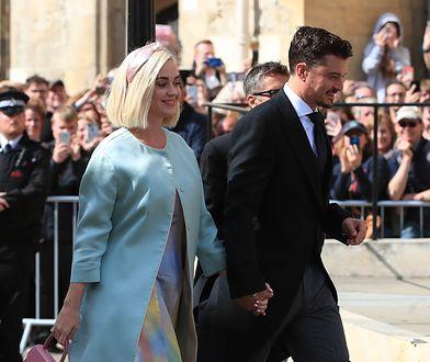 Orlando Bloom i Katy Perry na ślubie Ellie Goulding