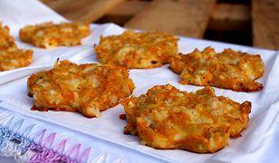 Nie tylko ziemniaczane. Placuszki z marchewki i sera