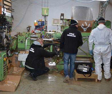 Straż Graniczna zlikwidowała największą nielegalną fabrykę w Polsce