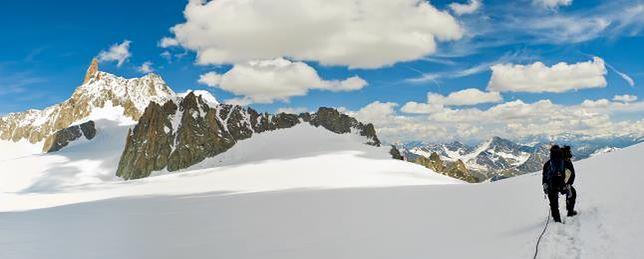 Francja - skarby na Mont Blanc