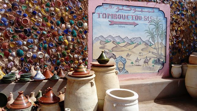 Ceramika w Maroko