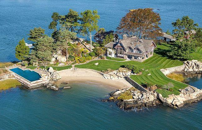 """Tavern Island wystawiona na sprzedaż. """"Godna jest tylko prawdziwego milionera"""""""