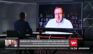 Wybory 2020. Prof. Antoni Dudek o czynnikach, które wpłyną na wynik. Istotna będzie pogoda