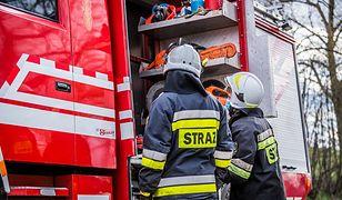Dolny Śląsk. Pożar kamienicy w Chojnowie