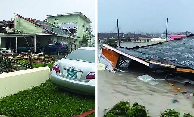 Huragan Dorian. Wyspa Wielkie Abaco w oku huraganu. Są pierwsze zdjęcia zniszczeń