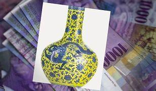 Kosztowna pomyłka kolekcjonera. Myślał, że waza jest starsza, więc wydał na nią fortunę