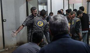 """W ataku zginęło trzech ratowników Syryjskiej Obrony Cywilnej """"Białe Hełmy"""""""