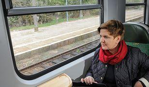 Na nowym rozkładzie skorzysta nie tylko premier Beata Szydło