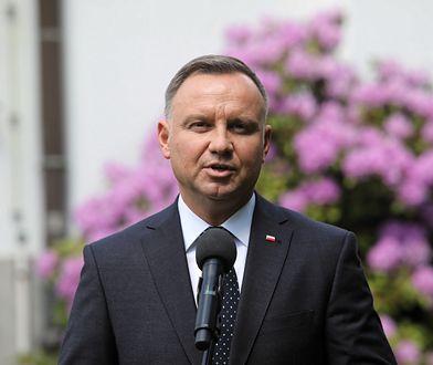 """Prezydent Andrzej Duda po szczepieniu. """"Wracamy do kina"""""""
