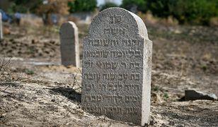 Ukraina. Zniszczony cmentarz żydowski