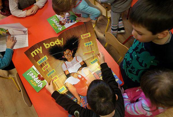 Język obcy w przedszkolach