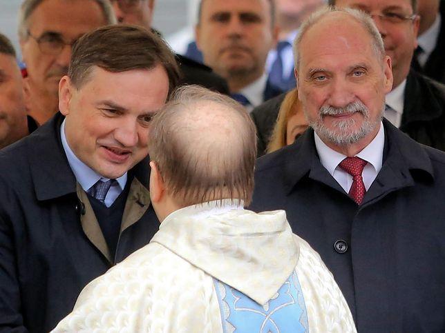 Zbigniew Ziobro i ojciec Tadeusz Rydzyk