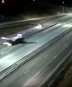 USA. Samolot wylądował na autostradzie. Wideo hitem sieci