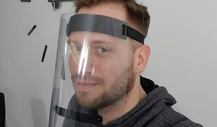 Przyłbice medyczne zamiast gogli VR do smartfonów. Nowy projekt pomoże lekarzom
