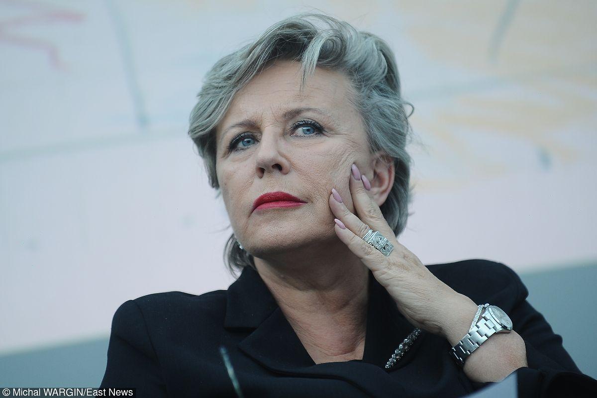 Krystyna Janda: prezes Kaczyński jedyną siłą sprawczą w Polsce