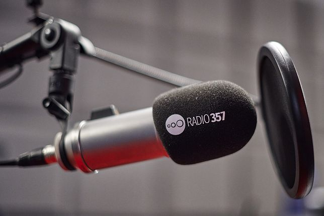 Radio 357 nadaje! (fot. Darek Kawka)