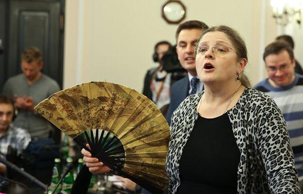 Krystyna Pawłowicz w sejmie w grudniu 2015 r.