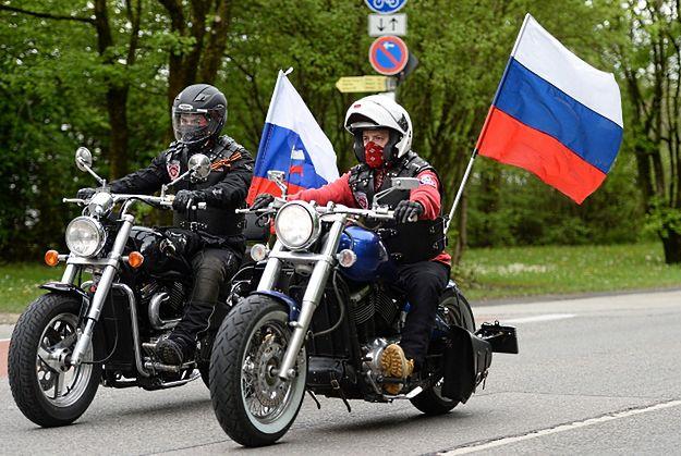 Rosyjscy motocykliści dotarli do KL Dachau
