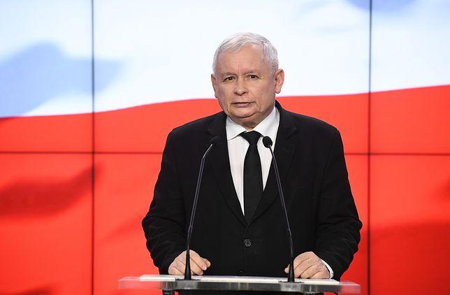 W czwartek Jarosław Kaczyński zabrał głos ws. nagród dla ministrów