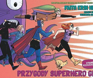 """""""Przygody Superhero Girl"""" ukazały się w Polsce nakładem Scream Comics"""