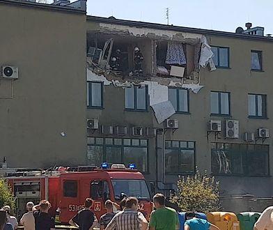 Eksplozja w Suchej Beskidzkiej. Wybuch gazu wyrwał ścianę budynku