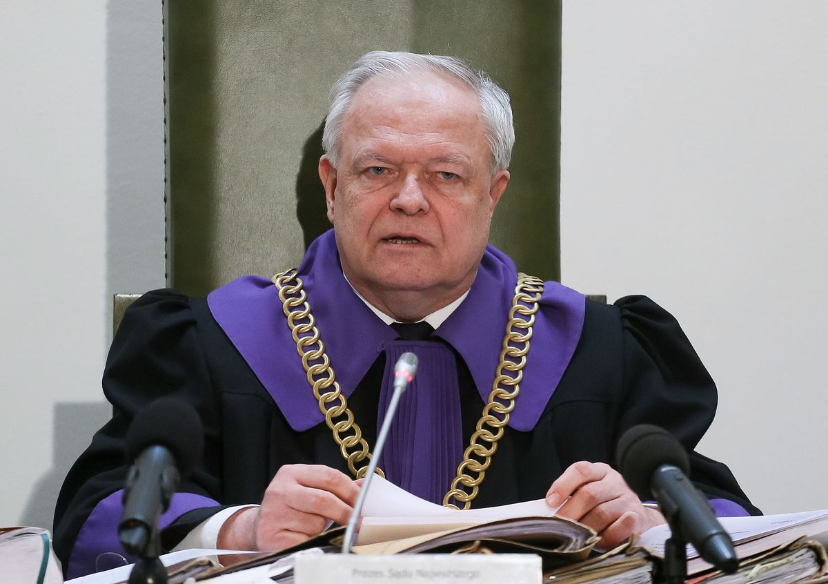 Stanisław Zabłocki rezygnuje. Jest odpowiedź Sądu Najwyższego
