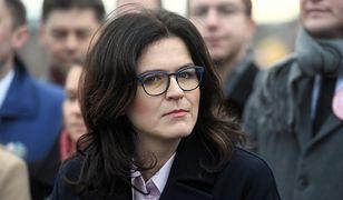 Strajk kobiet. Reakcja Aleksandry Dulkiewicz na zniszczenie biura PiS w Gdańsku