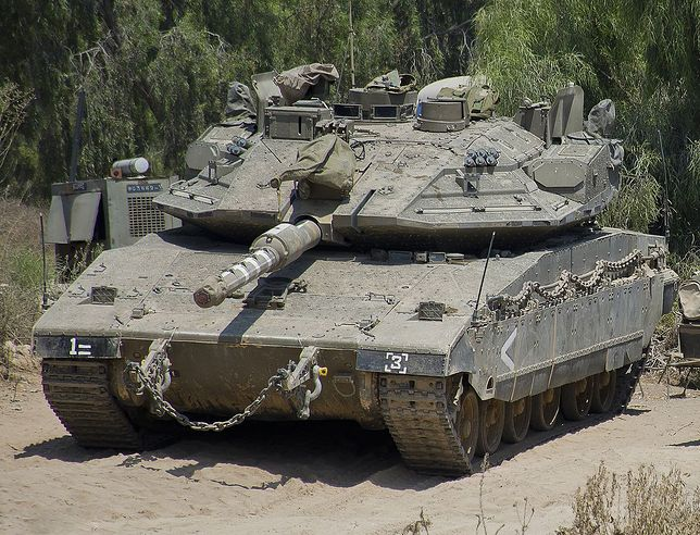 Czołg Merkava Mark IVm