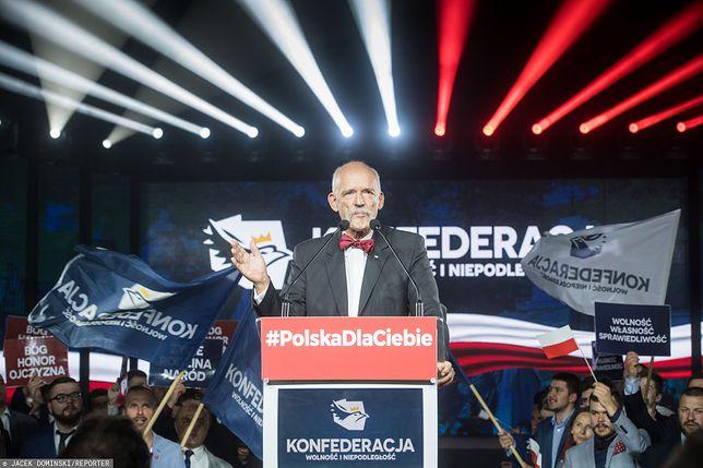 Wybory parlamentarne 2019. Janusz Korwin-Mikke (lider Konfederacji)
