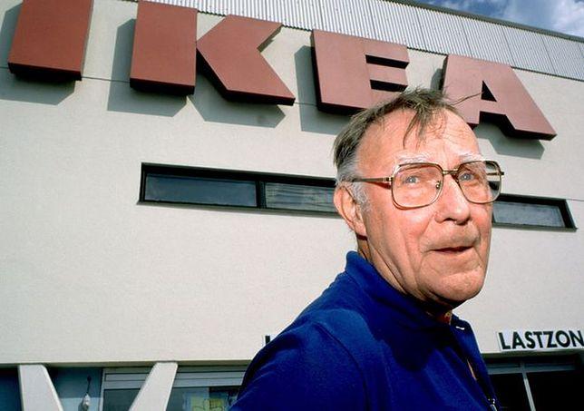 Założyciel Ikei Ingvar Kamprad kupuje ubrania w lumpeksach
