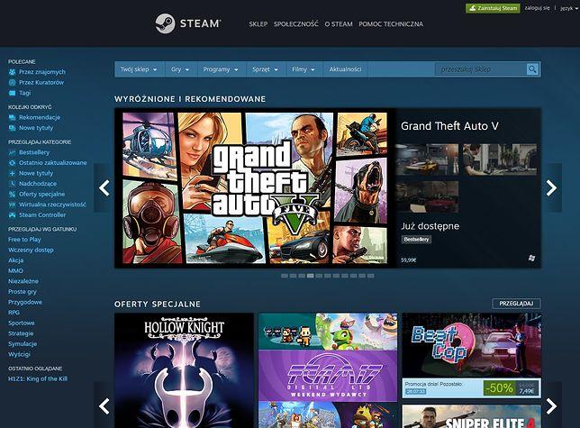 Steam ma w ofercie tysiące gier. Ile osób gra codziennie?