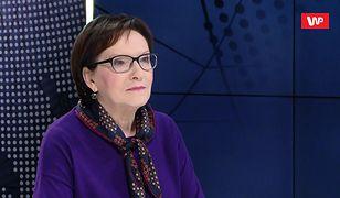 NBP pozwie posła PO Krzysztofa Brejzę. Ewa Kopacz komentuje