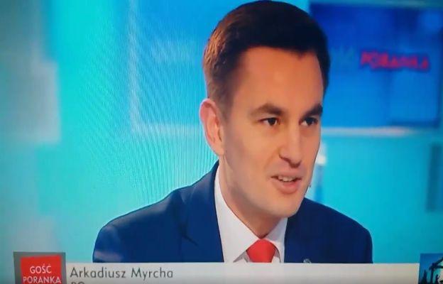 Wpadka posła PO w TVP. Belzebub jednym z trzech króli