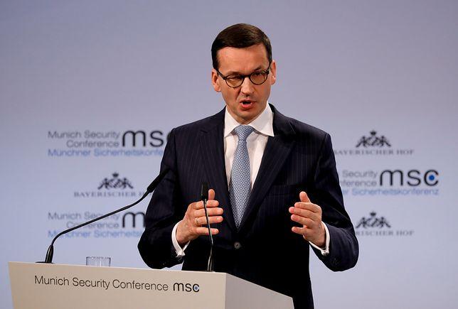 Premier Mateusz Morawiecki na Konferencji Bezpieczeństwa w Monachium